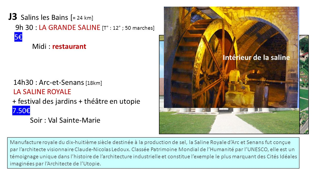 J3 Salins les Bains [= 24 km]